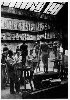 Académie Julian. Foto Brassaï 1932