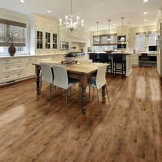 As the world's leaders in manufacturing of quality flooring solutions, Belgotex offer a complete range of carpet, wood-look vinyl flooring & artificial grass for the home. Wooden Flooring, Vinyl Flooring, Hardwood Floors, Kitchen Dining, Dining Table, Dining Room, Cottage Kitchens, New Home Designs, Living Spaces