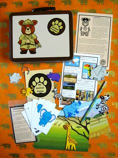 Animal Trackers Club, $15 per month, a new animal every month, for kids 3+ #AnimalTrackersClub ... http://thegiftingexperts.com/animal-trackers-club-review/