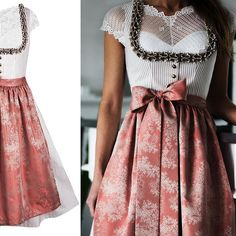 The fashion label for exclusive designer Dirndl & Tra . The fashion label for exclusive designer dirndl & traditional fashion Oktoberfest Outfit, Trendy Fashion, Girl Fashion, Fashion Outfits, Fashion Women, Vintage Fashion 1950s, Traditional Fashion, Luxury Dress, Looks Vintage