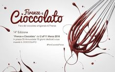 2018 - Fiera del Cioccolato Artigianale - Chocolate Fair, March 2-11, 10 a.m. to 10 p.m.; closes at 8 p.m. on Feb. 16, in Florence, Piazza SS. Annunziata; more than 40 exhibitors from all over Europe offer a great assortment of chocolates; cooking shows and chocolate workshops held by masters chocolatiers;  games and workshops for children, chocolate tasting. Free entrance.