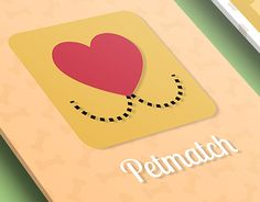 "Check out new work on my @Behance portfolio: ""Petmatch"" http://be.net/gallery/44874539/Petmatch"
