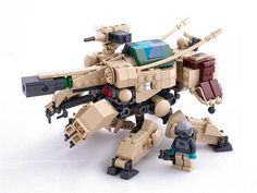 Gearhead - Tank Destroyer by Mechanekton, via Flickr