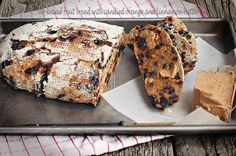 Milk and Honey: No-Knead Fruit Bread with Candied Orange and Cinnamon Butter