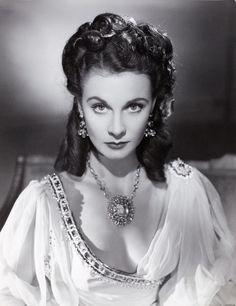 "Vivien Leigh as Lady Hamilton in ""That Lady Hamilton"" 1941"