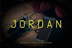 Jordan Sport Font by Nadezda Gudeleva on @creativemarket