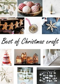 Best of Christmas craft - Nur noch Christmas Projects, Holiday Crafts, Christmas Ideas, English Country Decor, Christmas Decorations, Table Decorations, Jingle All The Way, Diy Blog, Beautiful Christmas