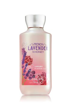 Signature Collection French Lavender & Honey Luxury Bubble Bath - Bath And Body Works Lavender Honey, French Lavender, Bubble Bath Soap, Future Mrs, Best Lotion, Bath And Bodyworks, Lush Bath, Shower Gel, Bath Shower
