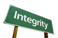 Integridad...Hacer lo correcto.