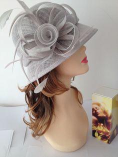 2014 NEW Kentucky Derby Church Easter Ascot Sinamay Small Brim Dress Hat,14color #Handmade #churchdressderbyteakenturkey