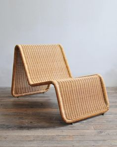 Tito Agnoli Wicker 'Model P3' Lounge Chair | Rose Uniacke