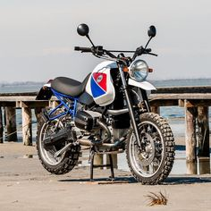 BMW GS Dune | North East Custom - RocketGarage - Cafe Racer Magazine