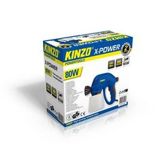 Kinzo X-power verfpistool 80W #kinzo #gereedschap #xpower #klussen #verfpistool