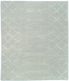 Featuring a curvilinear motif and a silk-wool blend, the Arching Lattice Ice contemporary rug is part of the Shakti collection from Tufenkian Rugs. This gorgeous piece is hand knotted in Nepal and comes in a choice of colors. http://www.cyrusrugs.com/tufenkian-rugs-barbara-barry-item-11914&category_id=1619&ivp=1