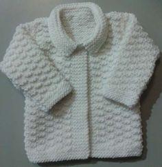 Muestras de tejidos para sacos de niños - Imagui Baby Knitting Patterns, Jumper Knitting Pattern, Jacket Pattern, Knitting For Kids, Baby Patterns, Baby Boy Sweater, Baby Coat, Baby Cardigan, Teal Scarf