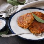 Édesburgonya tócsni Curry, Meat, Chicken, Ethnic Recipes, Food, Curries, Essen, Meals, Yemek