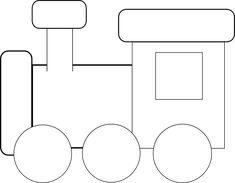 Black And White Train clip art Transportation Preschool Activities, Preschool Crafts, Train Clipart, Train Party Decorations, Train Template, Train Crafts, Patch Aplique, Free Motion Embroidery, Christmas Train