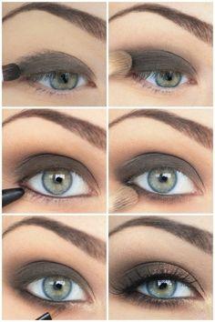 Simple smokey eye diy easy diy diy fashion diy make up diy eye shadow