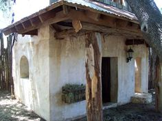 Adobe chicken coop in New Mexico-love it!