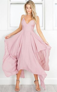 Valentines Day outfit ideas - Summer dresses - Spring outfit ideas- pretty pink dresses - Showpo maxi dress