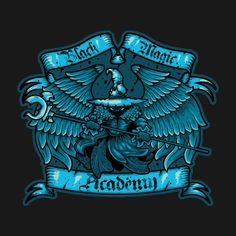 BLACK MAGIC ACADEMY T-Shirt $12.99 Final Fantasy IX tee at Pop Up Tee!