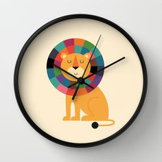 Mr.+Confidence+Wall+Clock+by+Andy+Westface+-+$30.00