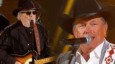 George Strait & Merle Haggard - The Fightin' Side Of Me ....Omg..George & Merle...got to love this.