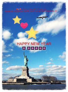 Bonne et Heureuse Année à vous tous ! 🎆🎆🎆❤️❤️❤️🎆🎆🎆. #happynewyear2019  #bonneannee2019 #nyc #Statueofliberty #manhattan #brooklyn #newyorkharbor Manhattan, New York Harbor, Nyc, Happy New Year 2019, Statue Of Liberty, Brooklyn, Movies, Movie Posters, Statue Of Liberty Facts