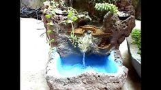 Fonte com 3 caídas d'água