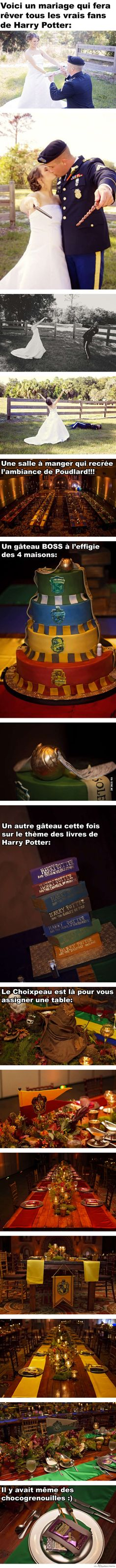 Mariage sur le thème de Harry Potter Plus (How To Get Him To Propose You Are) Theme Harry Potter, Harry Potter Wedding, Harry Potter Facts, Harry Potter Quotes, Harry Potter Diy, Harry Potter Universal, Harry Potter World, It's My Life, Movies And Series