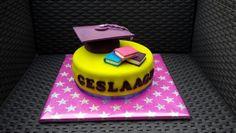 Geslaagd cake