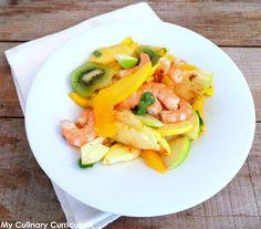 My Culinary Curriculum: Salade de crevettes aux fruits d'hiver (Shrimps sa...