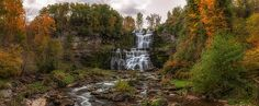 Chittenango Falls by Mark Papke. Prints for sale, click the picture.