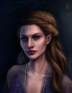 Feyre by queendread