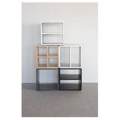 Walnutopia shelves are great in a tight spot!