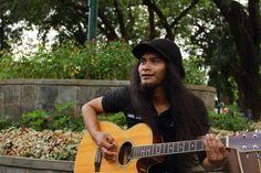 Ondel Loey, one of Jakartas street musicians