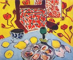 Oysters and Wooden Armchair. 1943. Henri Matisse