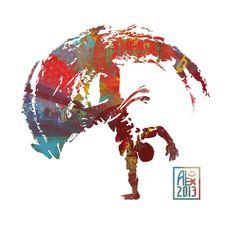 Encres : Capoeira – 529 [ #capoeira #digital #illustration]