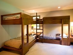 Modern Bunk Beds >> http://www.hgtv.com/designers-portfolio/room/eclectic/living-rooms/9588/index.html#/id-4068/room-kids-rooms?soc=pinterest
