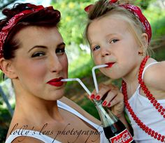 Mother daughter rockabilly #lollyslensphotography