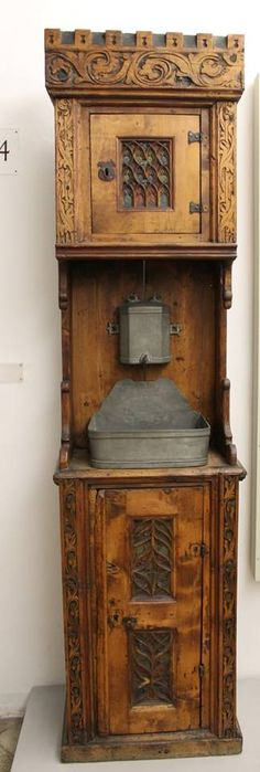 Hand washing station from the 1500s.  Because we all NEED one of these!