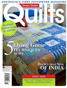 #ClippedOnIssuu from Down Under Quilts 156 Free