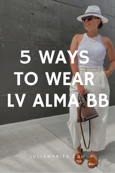 Trendy Girl, Summer Jeans, Louis Vuitton Alma, 5 Ways, My Wardrobe, Chic Outfits, Casual Chic, Bb, How To Wear