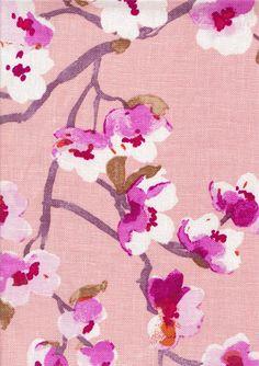 Sakura, Blossom - 100% Linen - Tonic Living