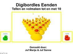 Digibordles Eenden Preschool Education, Spring, Letters, Math, Google, Om, Stage, Math Resources, Letter