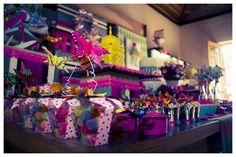 arranjos de flores para festa de quinze anos coloridos - Pesquisa Google