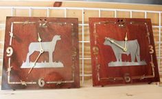 These would be awesome Bred and Fed prizes for fair!  SJ Cattle & Creations - Cattle Metal Cutouts