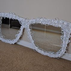 Recycle old frames... Looks like a cool project.