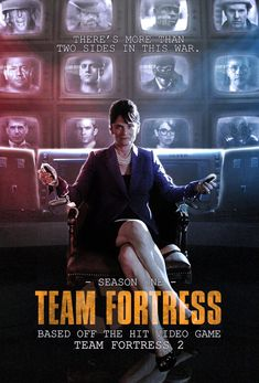 A few days ago somebody asked who I'd cast for a live-action movie or TV show. I said Netflix-exclusive black comedy/action that focuses a little mo. TEAM FORTRESS: The Live-Action Tf2 Funny, Funny Memes, Funny Comics, Tf2 Memes, Team Fortess 2, Christoph Waltz, Hugh Laurie, Live Action, Overwatch
