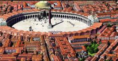 10 renowned ancient cities presented via astounding animated digital reconstructions you should know about. Battle Of Adrianople, Myths & Monsters, Roman City, Medieval World, Roman History, Hagia Sophia, 11th Century, Ancient Architecture, Ancient Rome